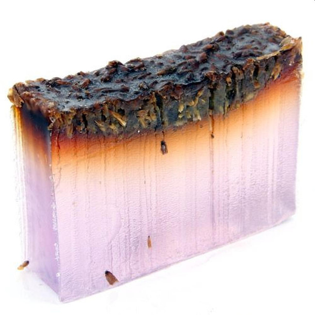 Sleepy Lavender Handmade Soap Slice