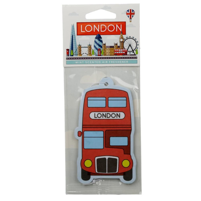 Mint London Red Routemaster Bus Air freshener