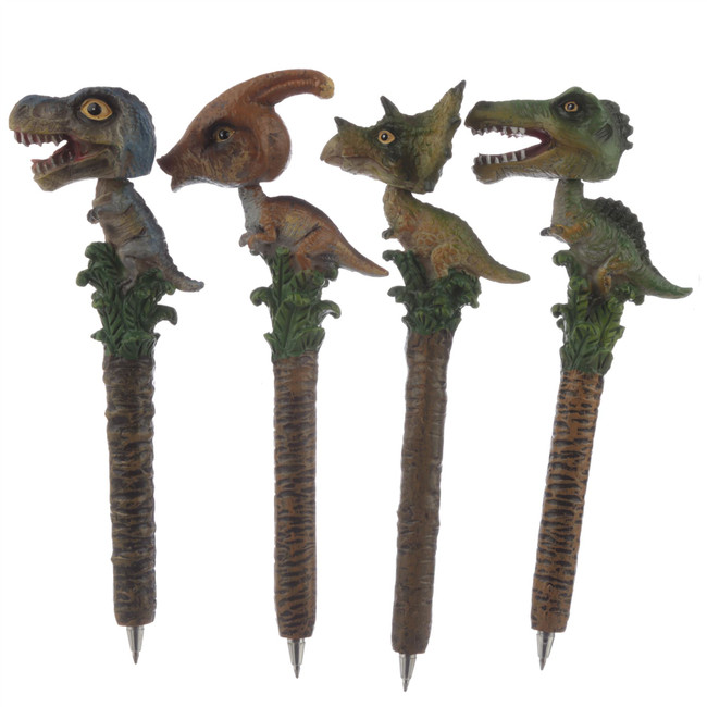 Bobble Head Dinosaur Pen