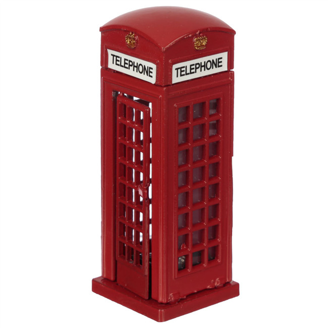 Red Telephone Box Diecast London Souvenir Pencil Sharpener