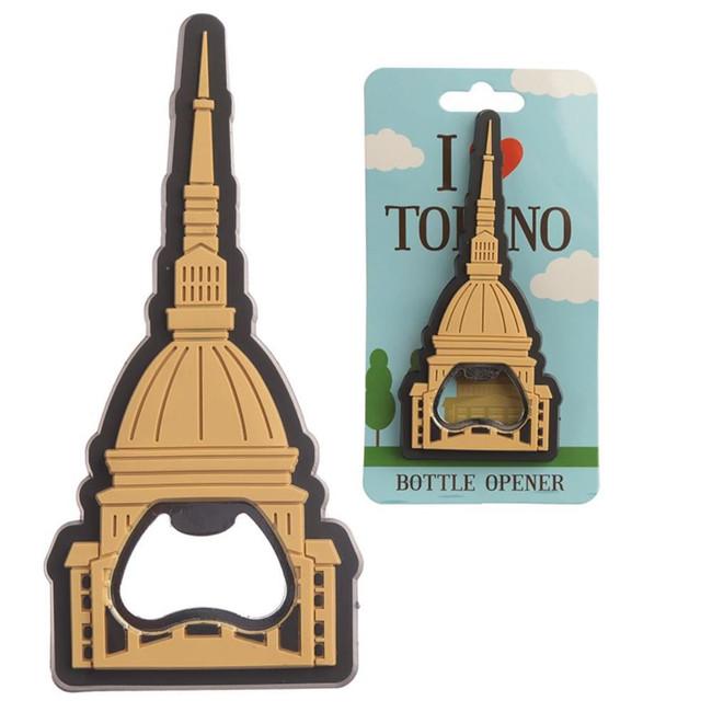 I Heart Torino Mole Magnetic PVC Bottle Opener