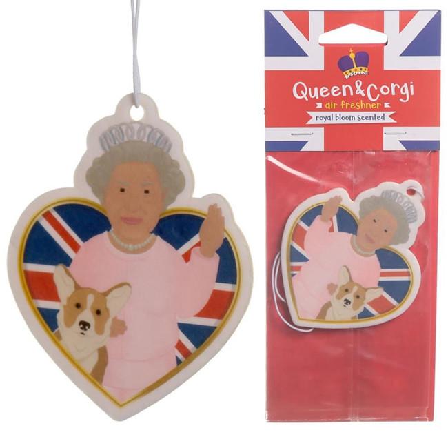Queen and Corgi Royal Bloom Air Freshener