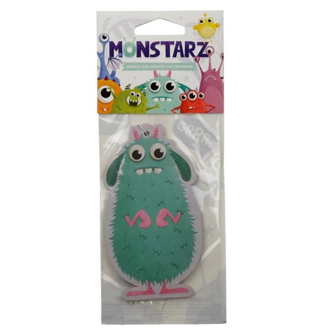 Bubble Gum Turquoise Monstarz Monster Air freshener
