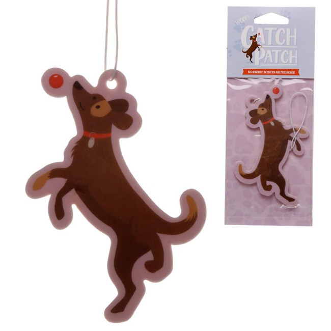Blueberry Catch Patch Dog Air Freshener