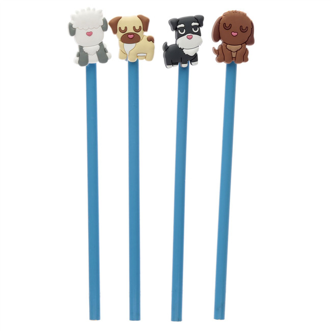 Dog Squad Pencil with PVC Topper