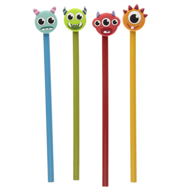 Monstarz Monster Pencil with PVC Topper
