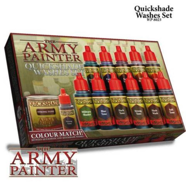 The Army Painter - Quickshades Washes Set