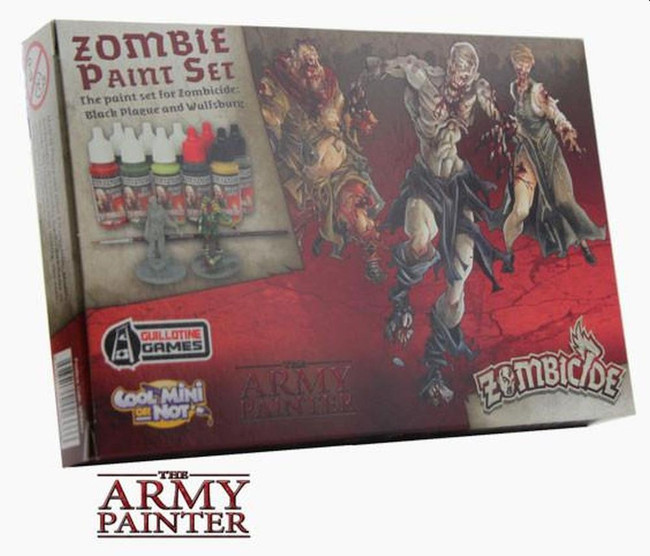 The Army Painter - Warpaints Zombicide Black Plague Paint Set