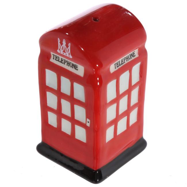 Ceramic London Salt & Pepper Set, Post & Telephone Box
