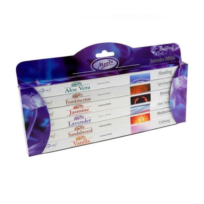 37148 Stamford Incense Sticks 6 Pack Gift Set - Moods