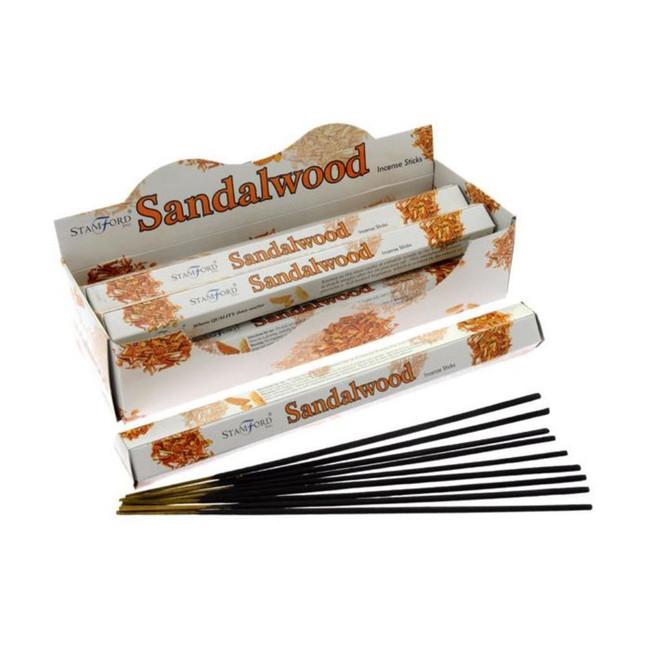 37107 Stamford Premium Hex Range Incense Sticks - Sandalwood