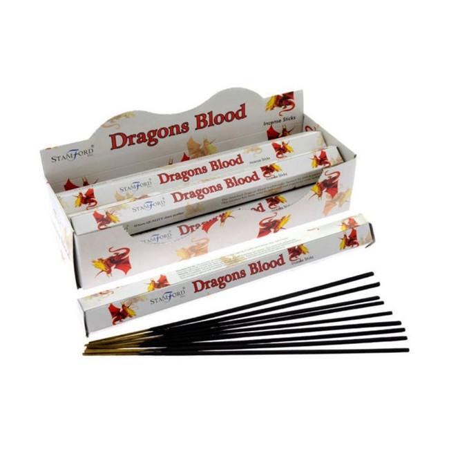 37123 Stamford Premium Hex Range Incense Sticks - Dragons Blood