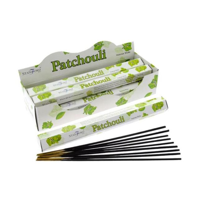 37103 Stamford Premium Hex Range Incense Sticks - Patchouli