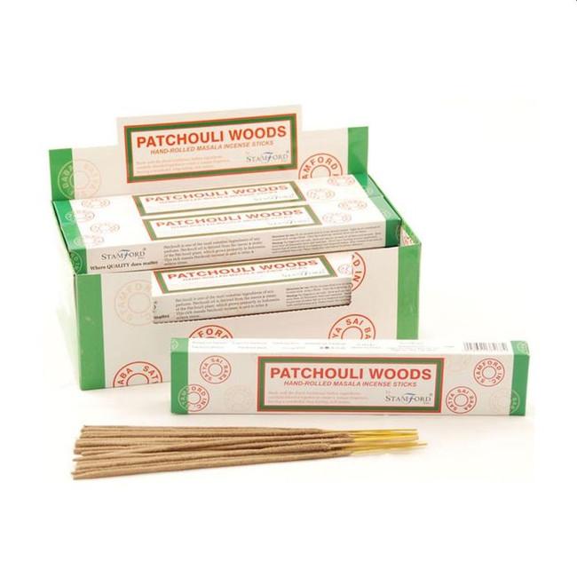 37268 Stamford Masala Incense Sticks - Patchouli Woods