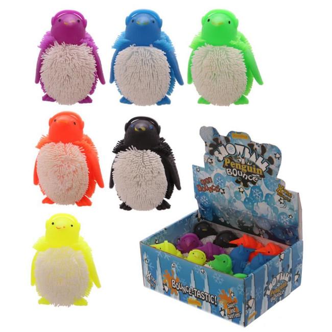 Squidgy Light Up Puff Pet Penguin
