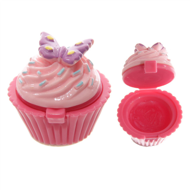 Fun Lip Gloss in Fairy Cake Holder in Display Box