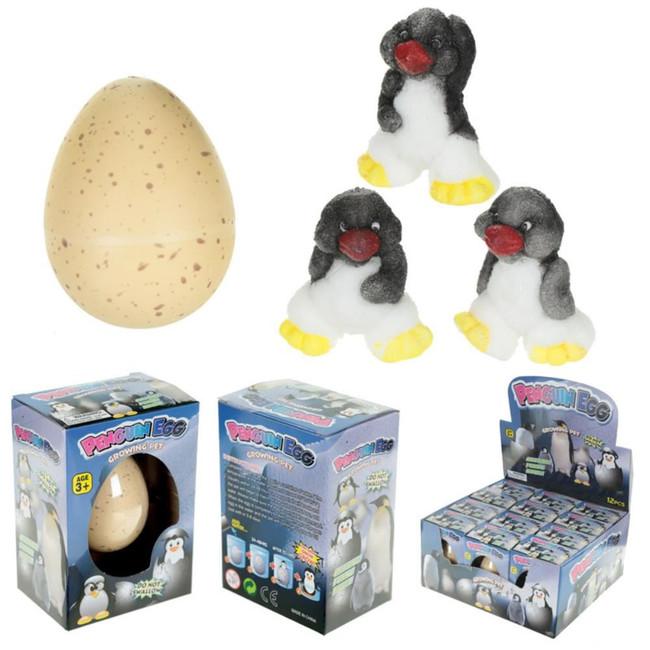 Penguin Hatching Egg