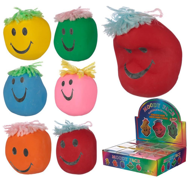 Colourful Squeezy Mood Head