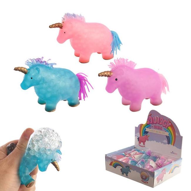 Squidgy Squeezable Unicorn Toy