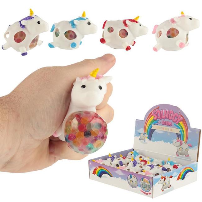 Squeezable Unicorn Mesh Ball