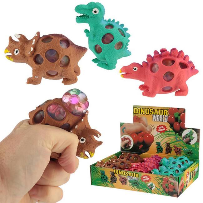 Squeezable Dinosaur Mesh Ball