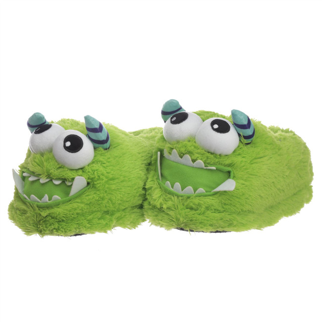 Monstarz Monster Green Slippers (One Size)