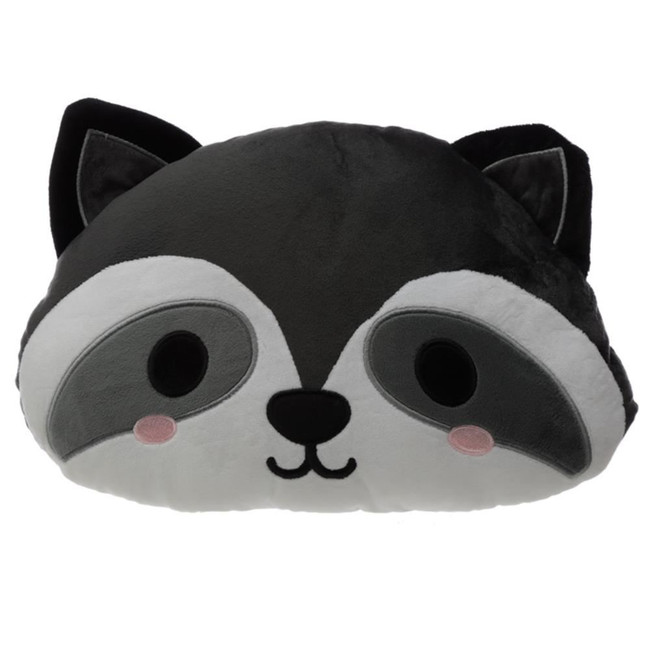 Cutiemals Raccoon Plush Cushion