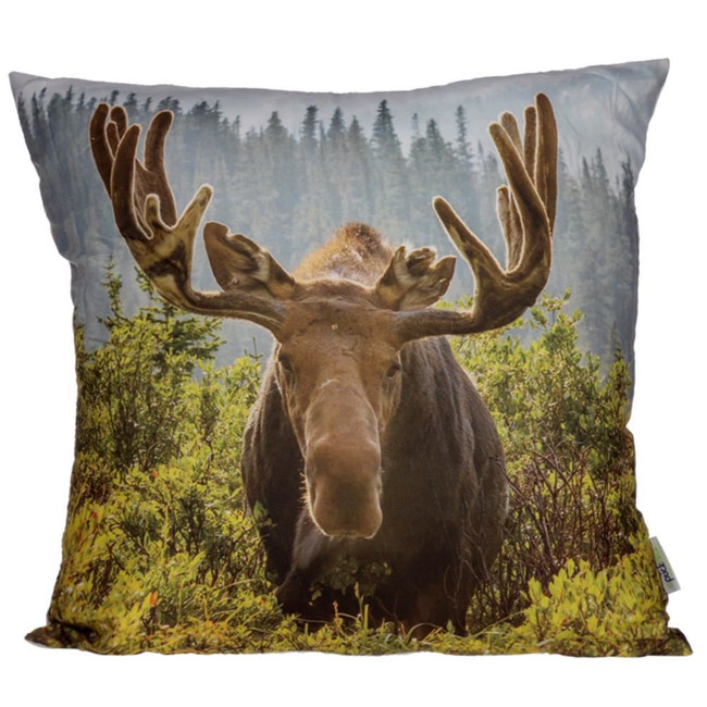 Moose Photo Cushion
