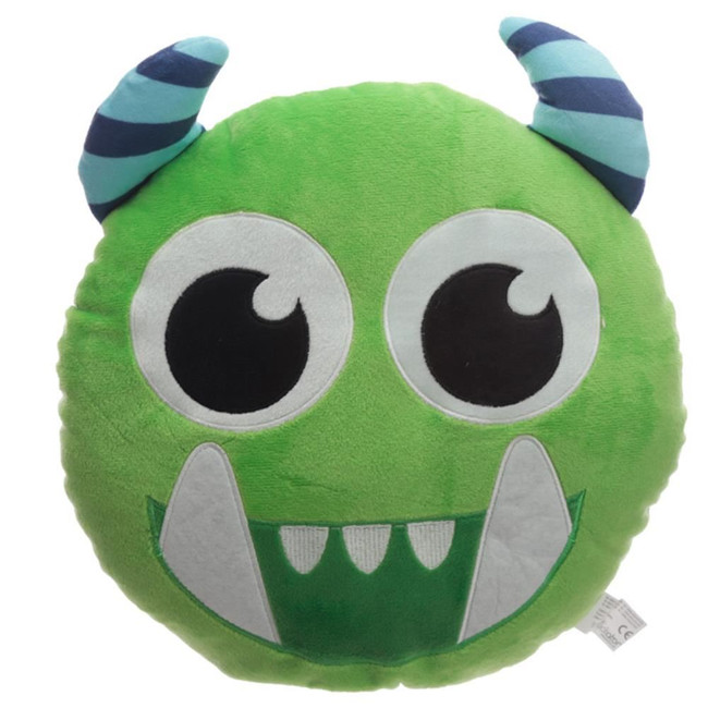 Green Monstarz Monster Plush Cushion