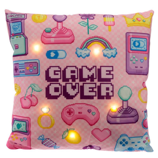 Next Gen Game Over LED Cushion