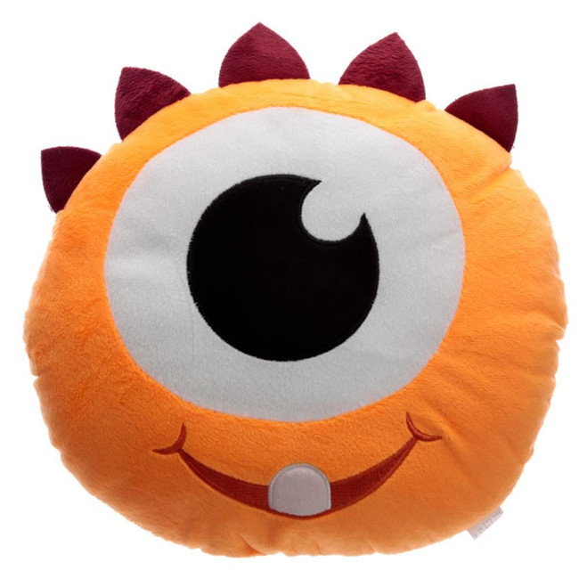 Orange Monstarz Monster Plush Cushion