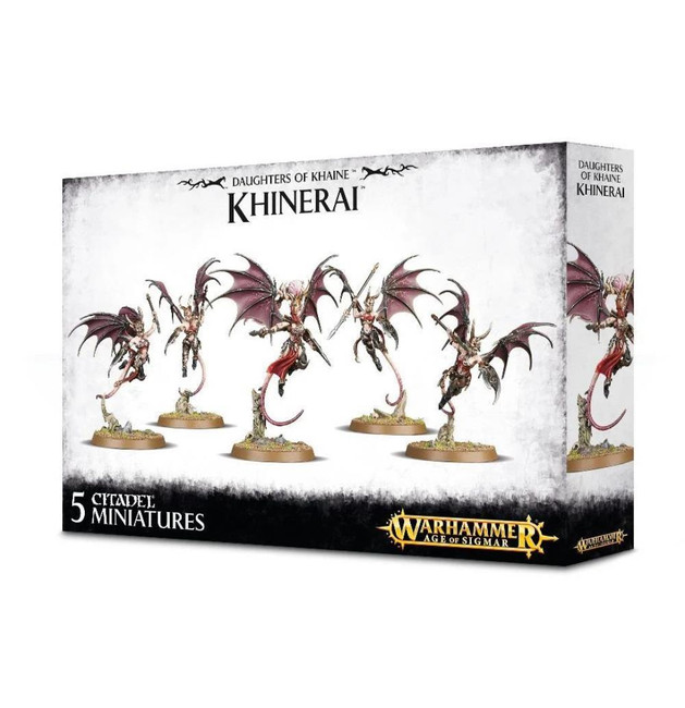 Daughters Of Khaine Khinerai, Warhammer Age of Sigmar