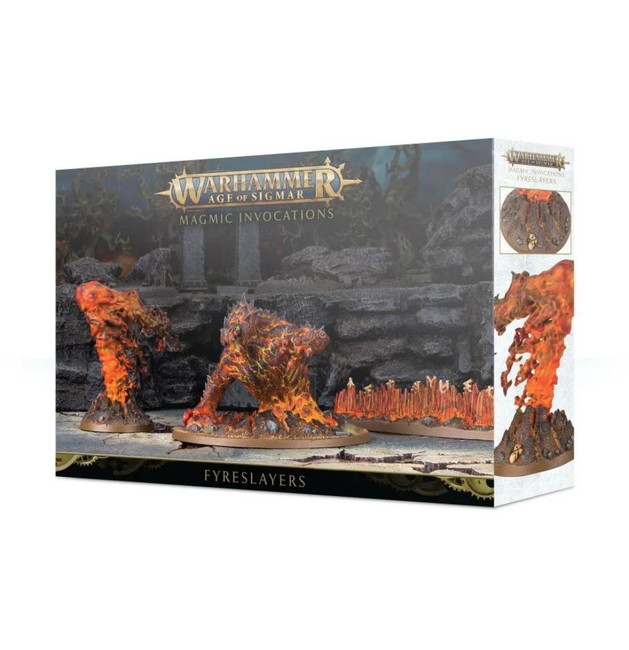 Fyreslayers: Magmic Invocations, Warhammer Age of Sigmar