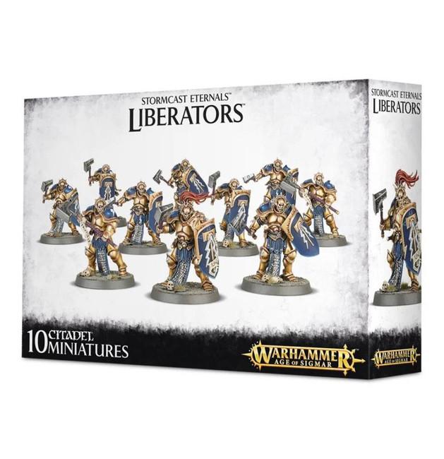 Stormcast Eternals: Liberators, Warhammer Age of Sigmar