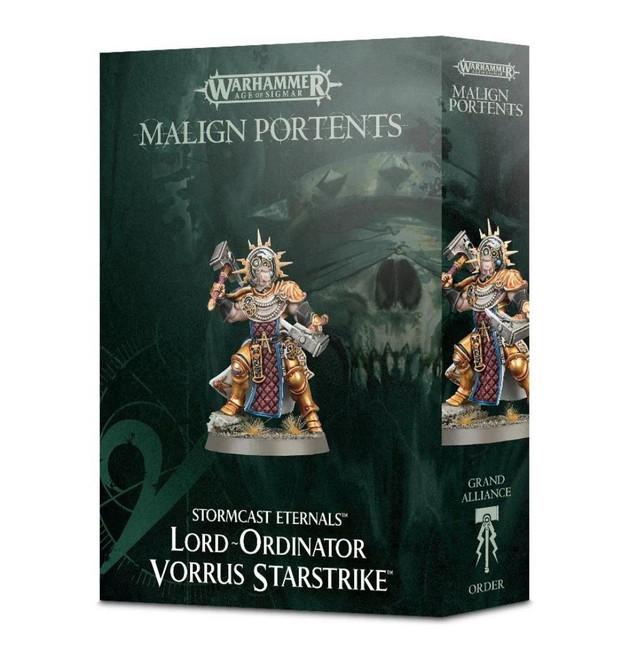 Stormcast Eternals: Lord-Ordinator Vorrus Starstrike,Warhammer Age of Sigmar