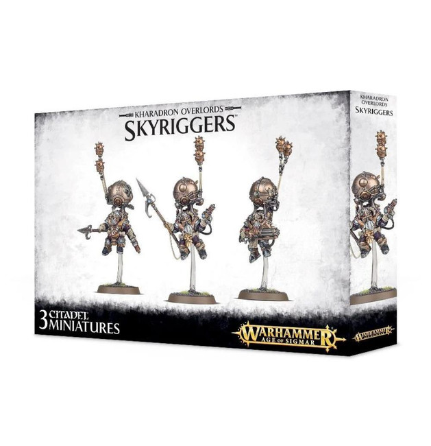 Kharadron Overlords: Skyriggers, Warhammer Age of Sigmar