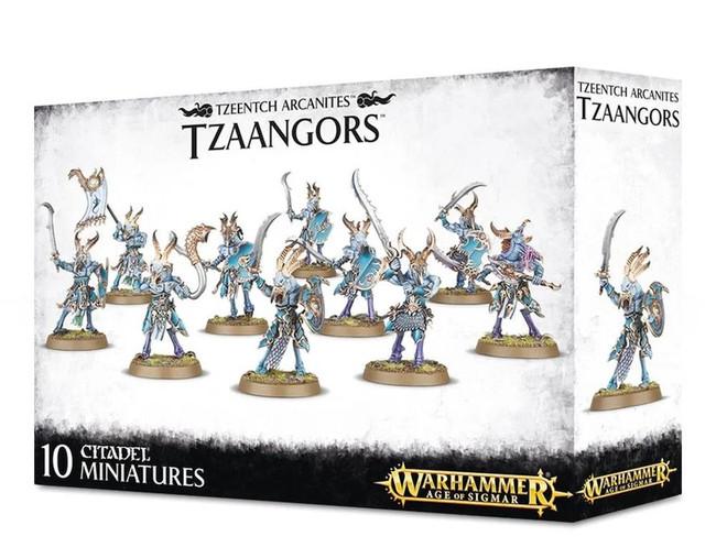 Tzeentch Arcanites Tzaangors, Warhammer 40,000, 40k, Age of Sigmar