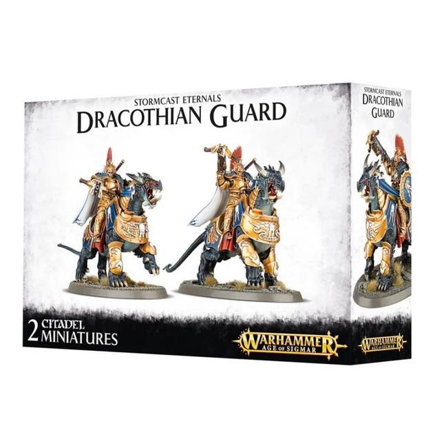Stormcast Eternals: Dracothian Guard Fulminators, Warhammer Age of Sigmar