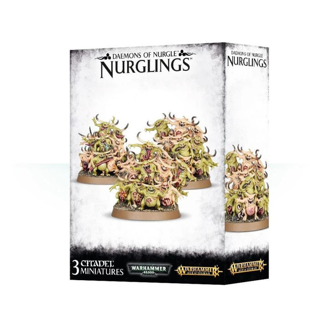 Daemons Of Nurgle: Nurglings, Warhammer Age of Sigmar