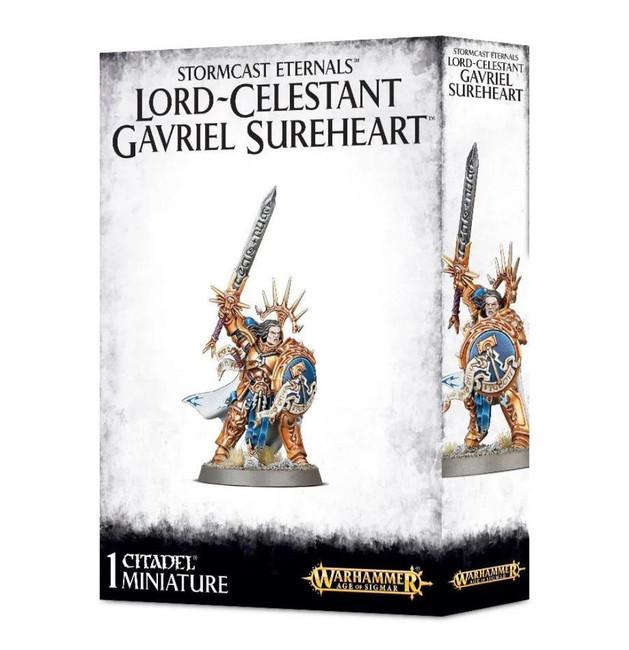 Stormcast Eternals: Lord-Celestant Gavriel Sureheart,Warhammer Age of Sigmar