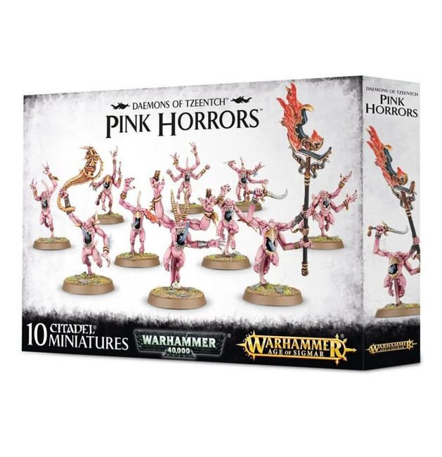 Daemons Of Tzeentch: Pink Horrors, Warhammer Age of Sigmar