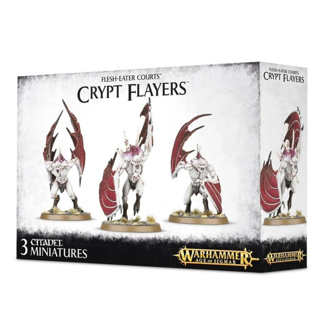 Flesh-Eater Courts: Crypt Flayers, Warhammer Age of Sigmar
