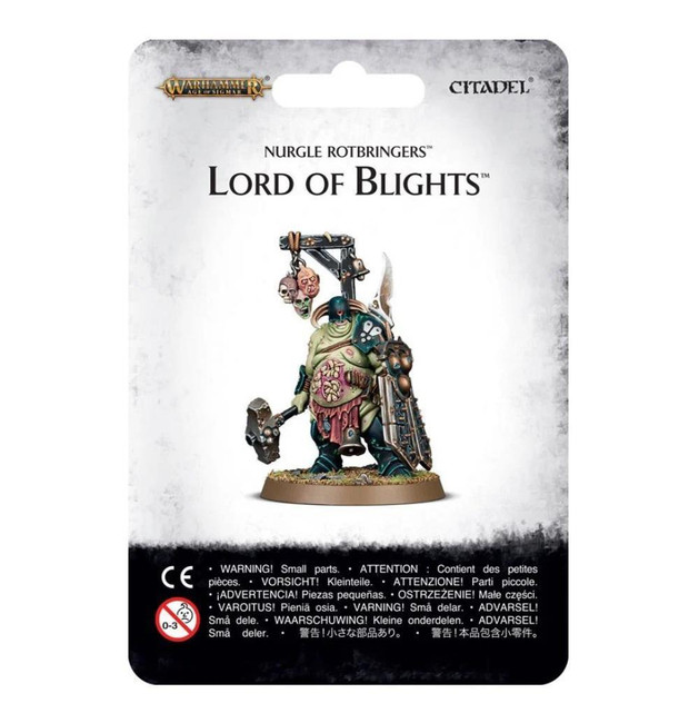 Nurgle Rotbringers: Lord Of Blights, Warhammer Age of Sigmar