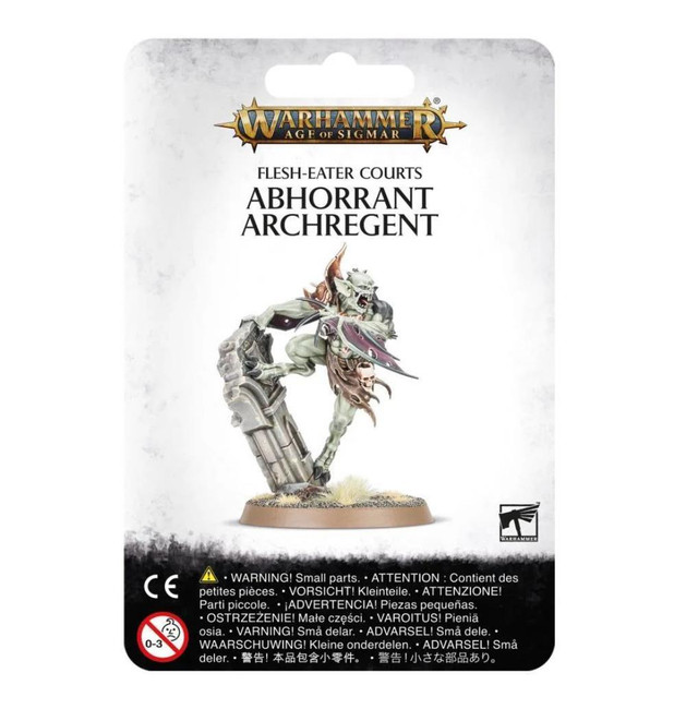 Flesh-Eater Courts: Abhorrant Archregent, Warhammer Age of Sigmar
