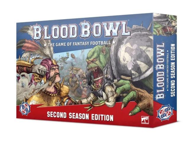 Blood Bowl: Blood Bowl (English) Second Season Edition, Games Workshop