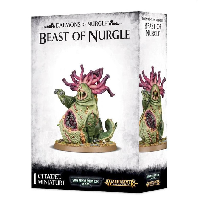 Daemons Of Nurgle: Beast Of Nurgle, Warhammer Age of Sigmar