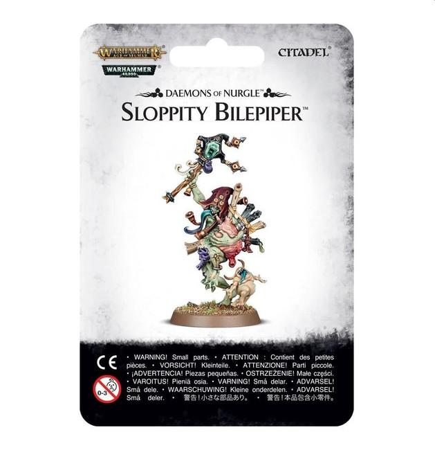 Daemons Of Nurgle: Sloppity Bilepiper, Warhammer Age of Sigmar