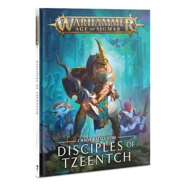 Warhammer Age of Sigmar Battletome: Disciples Of Tzeentch (Hardback,English)