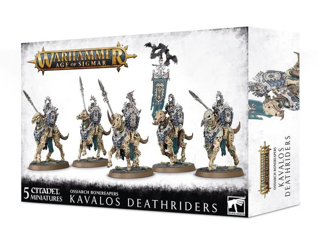 Ossiarch Bonereapers: Kavalos Deathriders, Warhammer Age of Sigmar
