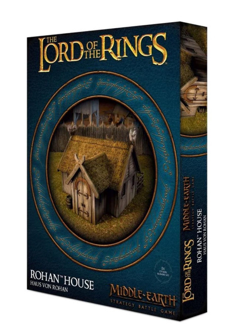 Middle-Earth Strategy Battle Game: Rohan House, LOTR Minatures Game